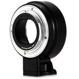 Viltrox Auto Focus Mount Adapter M Af สำหรับ Canon Ef M กล้อง Ef เลนส์พร้อมขาตั้ง สีดำ ถูก