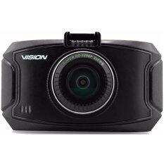 "VISION กล้องติดรถยนต์ GS90C - 2.7"" LCD ไมโครชิพ Ambarella A7 1296P Ultra HD เลนส์ 170° - พร้อม GPS Logging"
