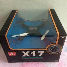 ซื้อ Visuo Drone X17 โดรนเครื่องบินรีโมทบังคับ ล๊อคความสูงได้ บินผาดโผนตีลังกาได้ X17 Miracle 2 4G 4Ch 6 Axis Gyros Rc Remote Control Aircraft Roll 360 Helicopters Auto Hover คละสี Syma