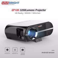 ขาย Vivibright Gp100 3200 Lumens Projector Android Version Intl