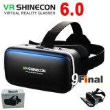 ซื้อ แว่น Vr 3D แว่นตา Vr 3 มิติ Vr Shinecon G04A Gen 6 3D Virtual Reality Glasses Google Cardboard Helmet สำหรับ ดูหนัง ฟังเพลง รองรับโทรศัพท์ 4 6 นิ้ว Vr Shinecon ออนไลน์