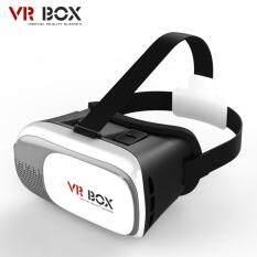 VR Box 2.0 Glasses Headset 3D แว่น ดูหนัง เล่นเกม สำหรับสมาร์ทโฟนทุกรุ่น (สีขาว)
