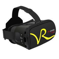 ซื้อ วีอาร์เคส Rk A1 โดนควบคุม 3D แว่นตาแว่นสร้างภาพจำลองเสมือนจริงเกมเสมือนกล่องหนังสำหรับ 4 6นิ้วโทรศัพท์อัจฉริยะ สีเหลือง ถูก จีน