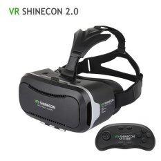 ขาย Vr Shinecon Ii 2 Vr ชุดหูฟัง Vr แว่นตา 3D Vr แว่นตาเสมือนจริง Vr Box สำหรับ 4 7 6 Imch สมาร์ทโฟน เกมส์แพด นานาชาติ
