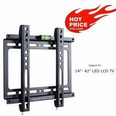 ซื้อ โปรแรงนะออเจ้า วันนี้ 17 04 2561 ขาแขวนทีวี Lcd Led Tv รุ่น Ytx 1442 Ultra Thin 14 42 Inch สำหรับทีวีที่มีรูยึดขาแขวนไม่เกิน 20 X 20 ซม ถูก ใน ไทย