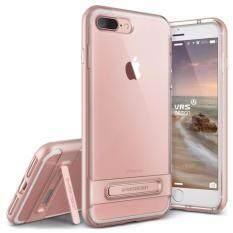 VRS DESIGN Case Apple iPhone 7 Plus Case Crystal Bumper : Rose Gold(Rose)