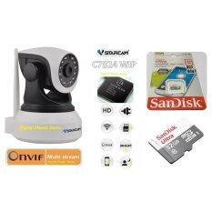 ซื้อ Vstarcam กล้องวงจรปิด C7824Wip 1 Mp Hd Ir Cut Onvif Wifi Micro Sd Card 32Gb Ultra Speed By Synnex ใหม่