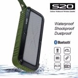 ขาย W King S20 Outdoor Waterproof Wireless Speaker Green W King ถูก