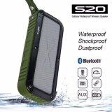 ขาย ซื้อ ออนไลน์ W King S20 Outdoor Waterproof Wireless Speaker Green