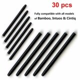 โปรโมชั่น Wacom 30 Pcs Lot Graphic Drawing Pad Standard Black Pen Nibs Replacement Stylus For Bamboo Intuos Cintiq Drawing Pad Pen Intl ถูก