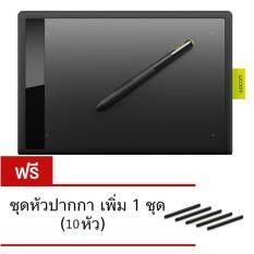 ซื้อ Wacom Bamboo ปากกาแท็บเล็ต Ctl 671 Ko F สำหรับพีซี Mac สีดำ แถมฟรีหัวปากกาสำรองเพิ่ม 1 ชุด 10หัว นานาชาติ ออนไลน์