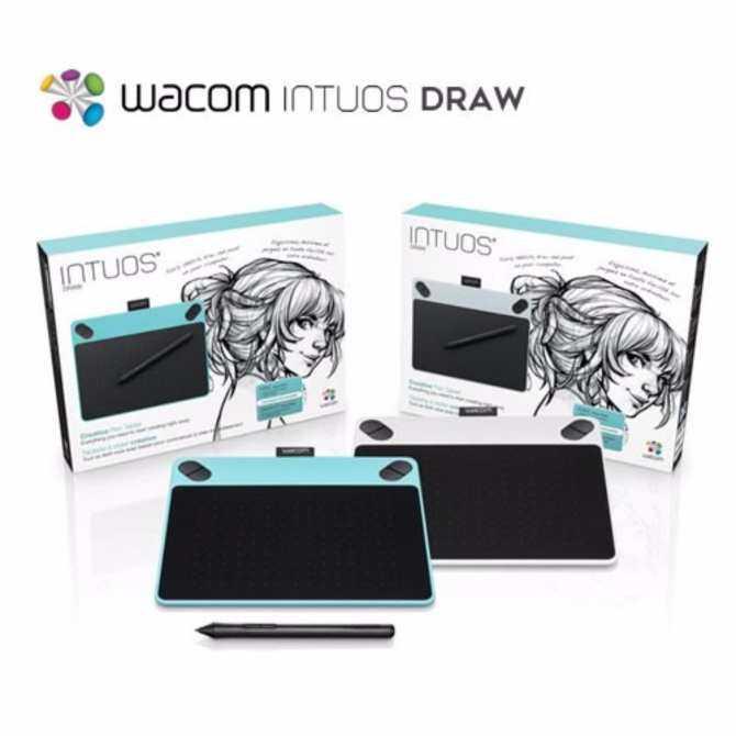 ร ว ว Wacom Intuos Draw Ctl490dw Digital Drawing And Graphics Tablet