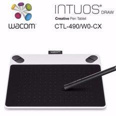 WACOM Intuos Draw Pen Small White CTL-490/W0-C (White)ของแท้ประกันศูนย์