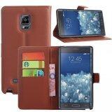 ซื้อ Wallet Case For Samsung Galaxy Note Edge Brown จีน