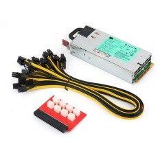 ราคา Warm 1200W Switching Power Supply For Gpu Rig Mining Ethereum Btc Eth Dps 1200Fb A Silver Intl Warm เป็นต้นฉบับ