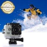 ราคา กล้องจักรยาน กล้อง Action Cam กล้องกันน้ำ Waterproof 30M Full Hd สีเงิน Inspy