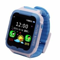 ขาย Waterproof C3 Smartwatch Gps Tracker Kids Smart Watch Phone Support Sim Card Anti Lost Sos Call Children Bluetooth Activity Finder Fitness Tracker Wristwatch Bracelet Safety Monitor App Parents Control For Ios Android Intl