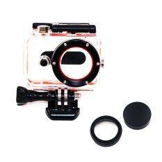 ขาย Waterproof Case Uv Filter Lens Cap Xiaomi Yi Action Camera Thailand