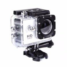 กล้องวีดีโอกันน้ำ WATERPROOF FULL HD 1080P with wifi ดูผ่านมือถือได้(สีเงิน)