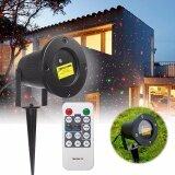 ซื้อ Waterproof Laser Fairy Light Projection Projector Christmas Outdoor Landscape Led Lamp Us Plug Intl