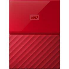 WD HDD Ext 1TB My Passport (NEW) 2.5 USB3.0 Red