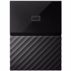 WD HDD - HARD DISK EXTERNAL 2.5 1TB MY PASSPORT 2017 BLACK (WDBYNN0010BBK)