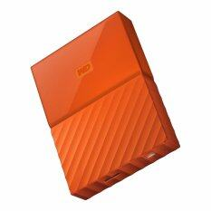 WD HDD - HARD DISK EXTERNAL 2.5 1TB MY PASSPORT 2017 ORANGE (WDBYNN0010BOR)