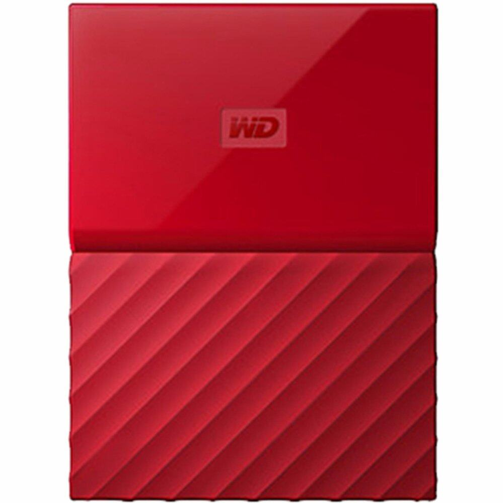 WD HDD - HARD DISK EXTERNAL 2.5 1TB MY PASSPORT 2017 RED (WDBYNN0010BRD)