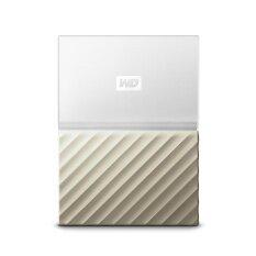 WD My Passport Ultra USB 3.0 1TB White Gold 2.5