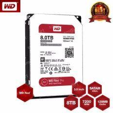 """WD Red Pro WD8001FFWX 3.5"""" 8TB 7200RPM SATA NAS Hard Drive"""