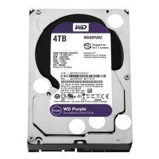 """WD Surveillance 4TB for CCTV - Purple (WD40PURZ) SATA 6Gb/s 64MB 3.5"""""""