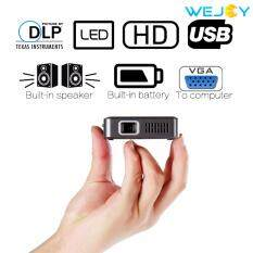โปรโมชั่น Wejoy Dl S30 2017 Newest Pocket Portable Led Projector Home Cinema ถูก