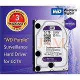 ส่วนลด Western ฮาร์ดดิสก์กล้องวงจรปิด Wd Purple 2 0Tb Thailand