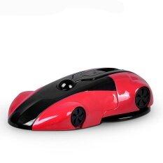 ซื้อ Whyus สากลพับหนึ่งแตะความเร็วรถรูปเมาส์แผงหน้าปัดรถยึดสำหรับโทรศัพท์ สีแดง นานาชาติ ออนไลน์ ถูก