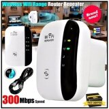 ส่วนลด ดูดสัญญาณ Wifi ง่ายๆ แค่เสียบปลั๊ก Best Wireless N Router 300Mbps Universal Wifi Range Extender Repeater High Speed White Unbranded Generic