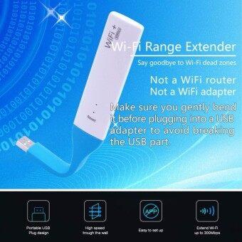 ตัวรับสัญญาณ WiFi Router แบบ USB Wireless Mini wifi Repeater for every WLAN network 300Mbps MINI USB Wifi Range Extender WIFI Repeater USB Adapter 2.4GHZ Wifi Signal Booster work for All USB Charge Portเหมาะสำหรับใช้งานกับคอนโด แมนชั่น โรงแรม
