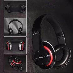 หูฟังบลูทูธwireless Bluetooth Headphone Stereo รุ่น P15 (สีดำ).
