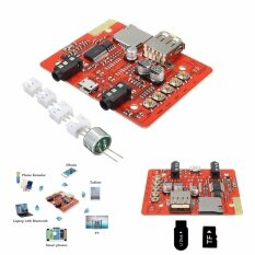 ซื้อ Wireless Bluetooth Receiver Stereo Audio Power Amplifier Module Usb Tf Aux 3 5Mm Intl ออนไลน์