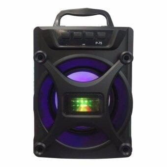 Wireless Speaker ลำโพงบลูทูธ ขนาด 5\ แบบพกพา รุ่น P-75