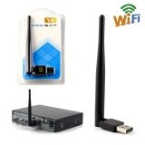 ซื้อ Wireless Usb Wifi Antenna Lan Adapter For Tv Receiver Freesat V8 V7 Combo Rt5370 Intl Joshelive เป็นต้นฉบับ