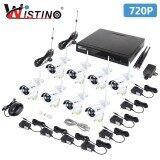 ขาย Wistino 8Ch Hd 720P Wifi Nvr Kit 1Mp Ir Cut Outdoor P2P Surveillance Cctv System Wireless Security 8Pcs Ip Camera Kits Night Vision Intl ถูก ใน จีน