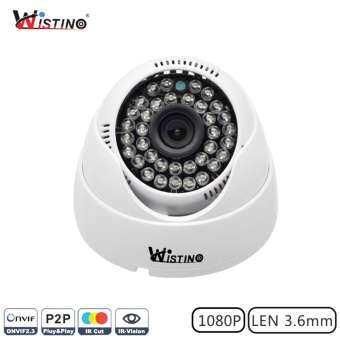 ราคา Wistino CCTV HD 1080P Indoor Dome IP Camera Surveillance Security Monitor ONVIF P2P IR-