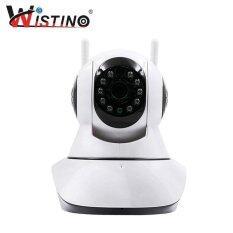 ซื้อ Wistino Wireless Wifi Ip Security Camera 720P Indoor Home Surveillance System Baby Pet Monitor 2 Way Audio Day Night Vision ออนไลน์ ถูก