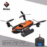 ซื้อ โดรนบังคับ กันน้ำ Wltoys Q353 Aeroamphibious Air Land Sea Mode 3 In 1 Headless Mode 2 4G Rc Quadcopter Rtf Wl Toys