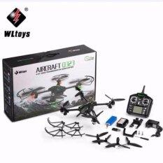 ราคา โดรนบังคับ โดรนติดกล้อง Wltoys บินถ่ายภาพ Wltoys Q323 Q323 B Wifi Fpv With 3Mp Camera Air Press Altitude Hold Rc Quadcopter Rtf ใหม่