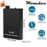 Womdee Portable Headphone Amplifier Audio Powered Headphone Amplifier Black Intl จีน