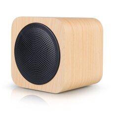ราคา Wood Bluetooth Speaker With Fm Radio Supportmp3 Player Aux Portable Wireless Speaker For Cell Phone Pc Tablet Intl เป็นต้นฉบับ Unbranded Generic