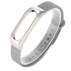 Wristband For Xiaomi Mi Band 2 Zinc Alloy Tpe Material Intl เป็นต้นฉบับ