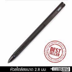 ซื้อ Writertoy ปากกาสไตลัสหัวเล็ก Stylus Pen ปากกาไอแพด Ipad Iphone ปากกา Touch ปากกาแท็บเล็ต Tablet รุ่น Lightspeed สีjet Black กรุงเทพมหานคร