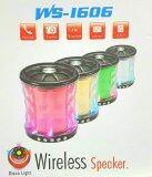 ขาย Wster ลำโพงแบบพกพา Bluetooth รุ่น Ws 1606 Disco Light สีทอง Unbranded Generic เป็นต้นฉบับ